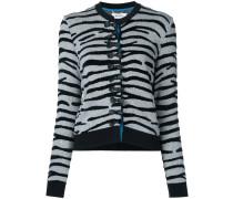 Cardigan mit Zebra-Muster