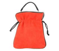 metal piping crossbody bag