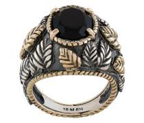 onyx set ring