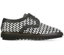Gewebte Derby-Schuhe