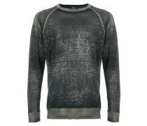 Sweatshirt in Washed-Optik