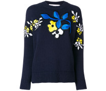 floral patch jumper