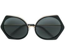 carved oversized sunglasses