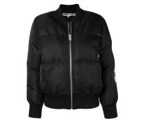 applique patch sleeve jacket