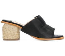 Pipana pleated mules