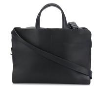 top zipped messenger bag