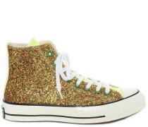 'Chuck Taylor' Sneakers im Glitter-Look