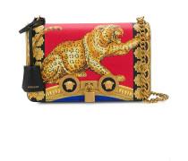 Handtasche mit Tiger-Print