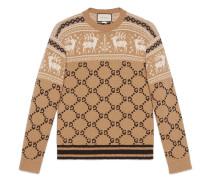 Pullover aus GG Jacquard
