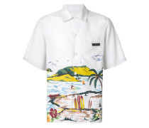 'Hawaiana' Hemd mit kurzen Ärmeln