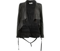 foldover lapel jacket