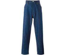 'Chore' Jeans mit weitem Bein