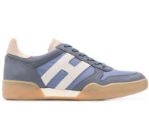 'H' Sneakers mit Schnürung
