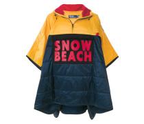 Gesteppter 'Snow Beach' Poncho