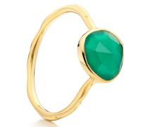 'GP Siren' Ring mit Onyx