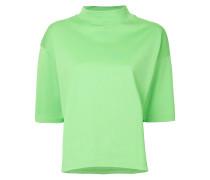 high neck boxy T-shirt