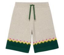 Shorts mit Fair-Isle-Muster