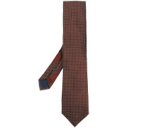 Gepunktete Krawatte