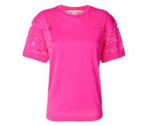 T-Shirt mit Perforierung