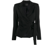Blazer in Wickeloptik