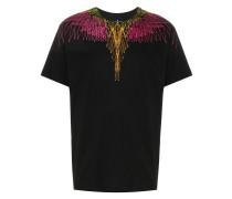 Kastiges T-Shirt mit Digital-Print