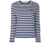 striped logo top