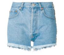 Verzierte Jeansshorts