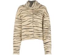 Kissy tiger pattern jumper
