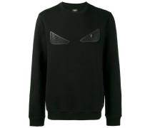 Sweatshirt mit Augenverzierung