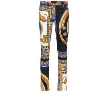 Jeans mit Print - Unavailable