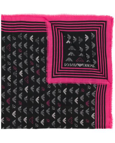 Schal mit durchgehendem Logo-Print