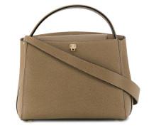 Gekörnte 'Brera' Handtasche