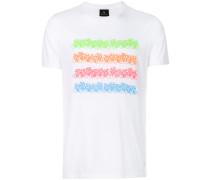 colour-block stripe T-shirt