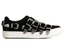 Slip-On-Sneakers mit Schnallen