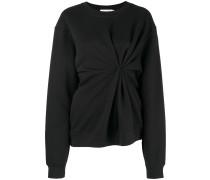 Drapiertes Sweatshirt