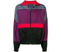 80s Sweatshirt mit Stehkragen