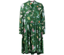 'Resist' Kleid mit Print