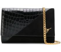 Cleopatra croc-effect crossbody bag
