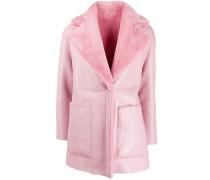 Mantel mit Wollkragen