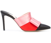 Mules in Colour-Block-Optik