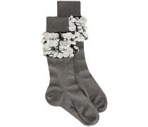 Socken mit Pailletten