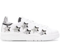 'Roger' Sneakers mit Glitter-Sternen