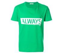 """T-Shirt mit """"Always""""-Print"""