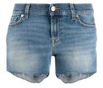 Ausgefranste Jeansshorts