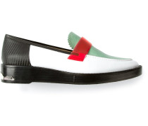 Loafer in Colour-Block-Optik