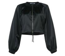 Cropped-Jacke mit weitem Schnitt