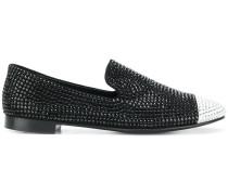 Loafer mit Kristallen