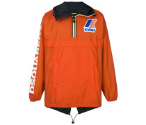 x K-Way Windbreaker mit Logo