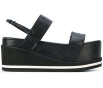 Sandalen mit Flatform-Sohle