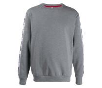 Sweatshirt mit Logo-Streifen